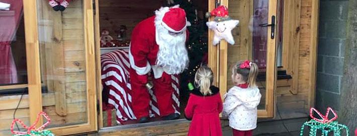 Santy Claus Visits Horizons Montessori